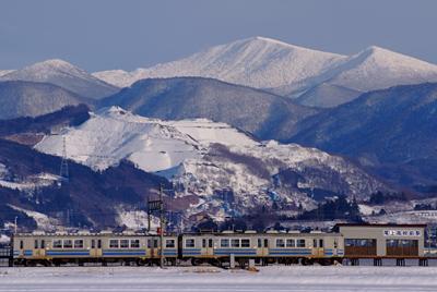 八甲田と弘南鉄道 弘南線