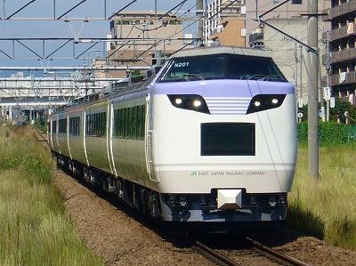 9422M 485系N201 快速横濱ものがたり号