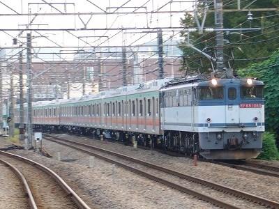 9275レ EF65-1080+東急5122F