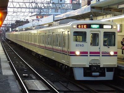 61K 6040F+6432F 急行新線新宿行