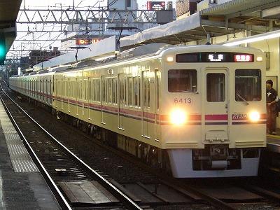 7 6413F+9003F 準特急新宿行