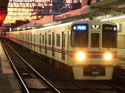 19 9034F 快速新宿行