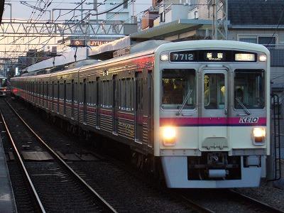 66 7012F 急行新宿行(競馬臨)