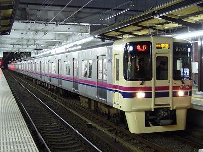 41 9001F 急行新線新宿行(競馬臨)