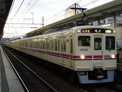 69K 6042F+6438F 急行橋本行