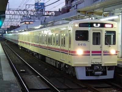 7 6415F+9004F 準特急新宿行
