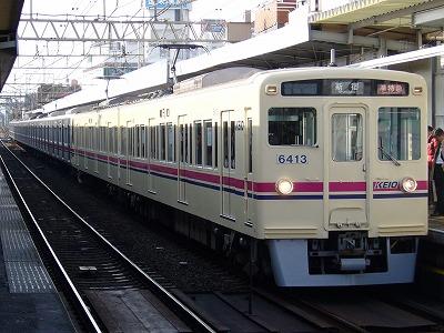 ③7 6413F+9006F 準特急京王線新宿行