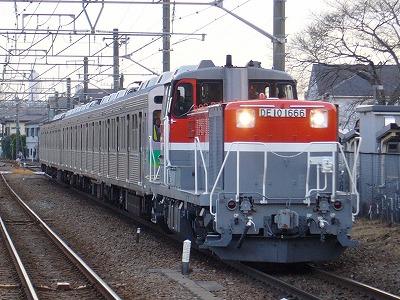 ③9891レ DE10-1666+秩父鉄道7002F