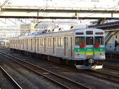 ③秩父鉄道7000系7001F