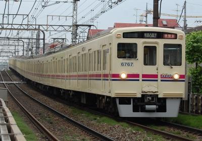 No.7 6411F+6017F 準特急京王八王子行