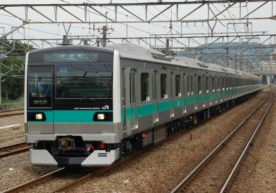 試9641M E233系2000番台マト1 公式試運転 府中本町にて