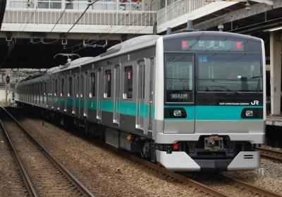 試9641M E233系2000番台マト1 公式試運転(後撃ち) 府中本町にて