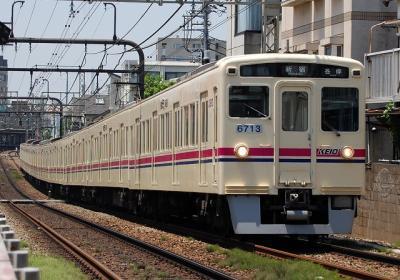 No.41 6013F 各停新宿行