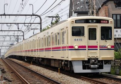 No.7 6415F+6014F 準特急新宿行1