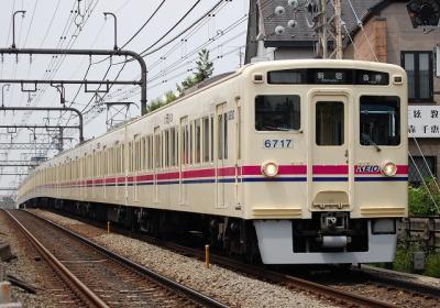 No.62 6017F 各停新宿行