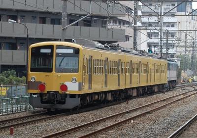 9674レ EF65-1066[新]+西武新101系 近江鉄道甲種 西国分寺にて(後追い)