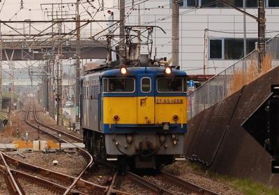 単????レ EF65-1059 豊田にて