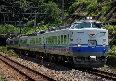 9707レ 485系K60 急行ぶらり鎌倉 鎌倉行