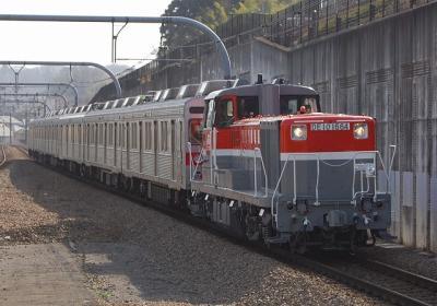 9891レ DE10-1664+長野電鉄8500系8505F+8506F(元東急8624F)