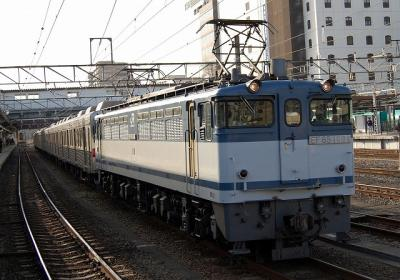 9878レ EF65-1094+長野電鉄8500系8505F+8506F(元東急8624F)