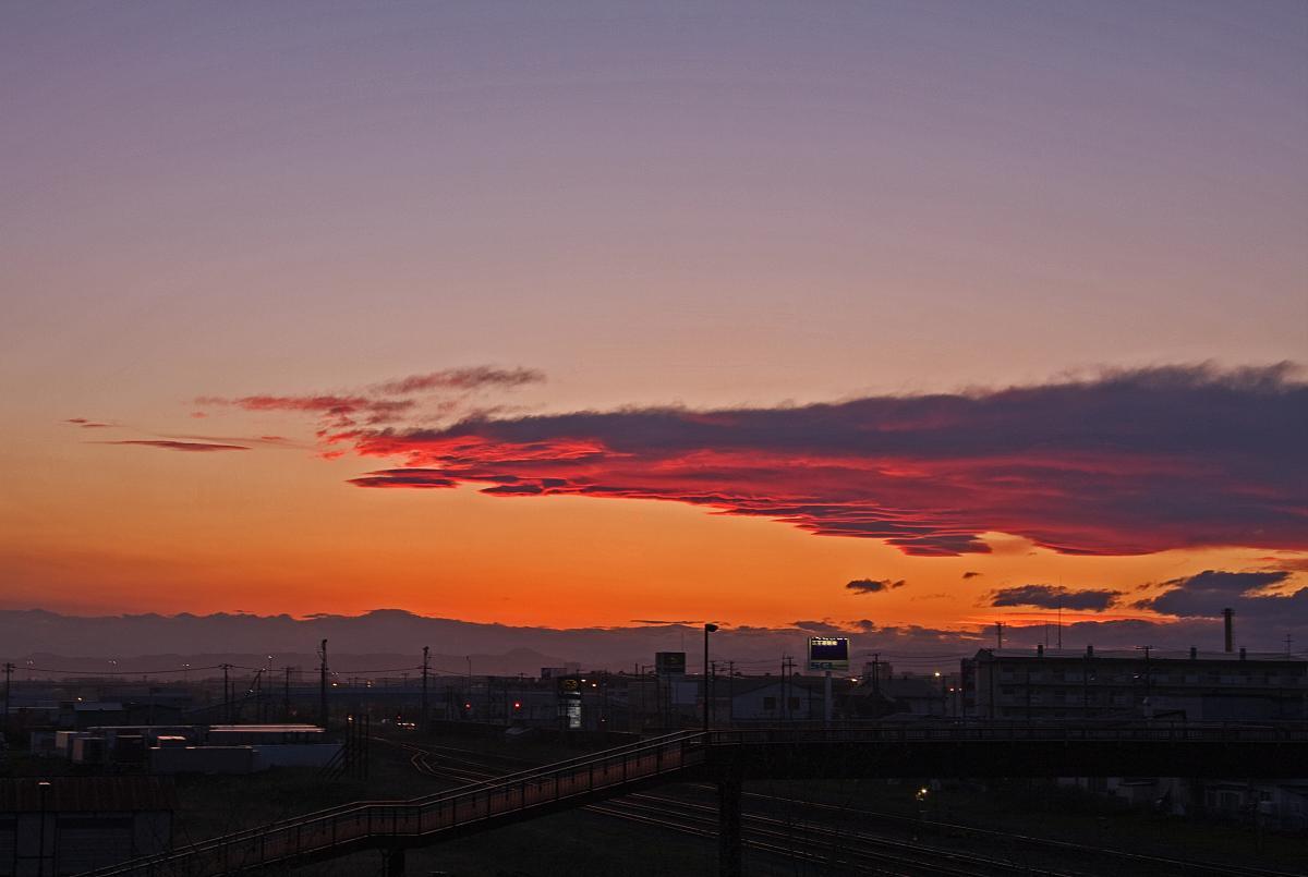 新富士駅周辺から撮影