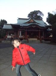 07年1月10日武蔵野八幡宮