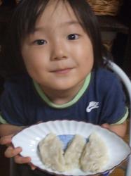 2007年8月30日水餃子