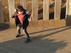 2008年1月15日公園ショー