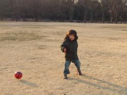 2008年1月16日サッカー