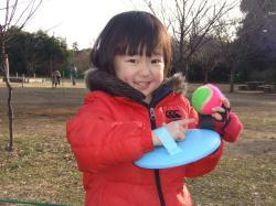 2008年1月19日ボール投げ