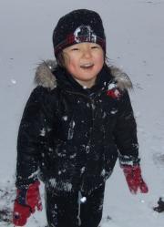 2008年1月23日雪合戦後