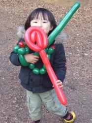 2008年1月26日バルーン3つ