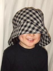 2008年2月2日リネン帽子