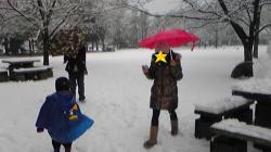 2008年2月3日韓国の友達
