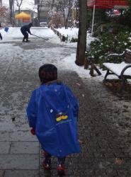 2008年2月3日雪かき