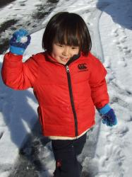 2008年2月4日雪合戦