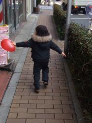 2008年2月8日風船