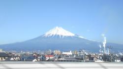 2008年2月14日富士山