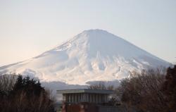 2008年2月18日富士山