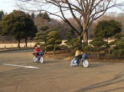 2008年2月22日自転車ミッキー