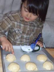 2008年2月23日メロンパン4砂糖