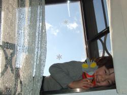 2008年2月28日出窓