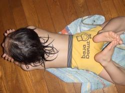 2008年3月1日お風呂上がり