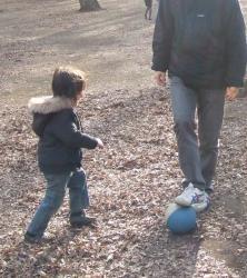 2008年3月9日パパと