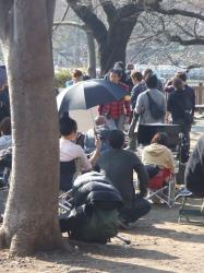 2008年3月11日ドラマ撮影