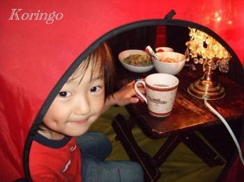2008年9月28日テントディナー