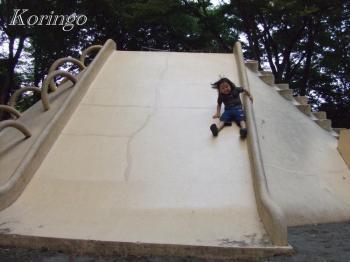 2008年9月28日滑り台