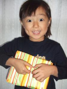 2008年11月5日贈り物