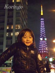 2008年12月6日タワーと