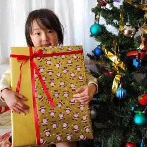 2008年12月25日サンタさん